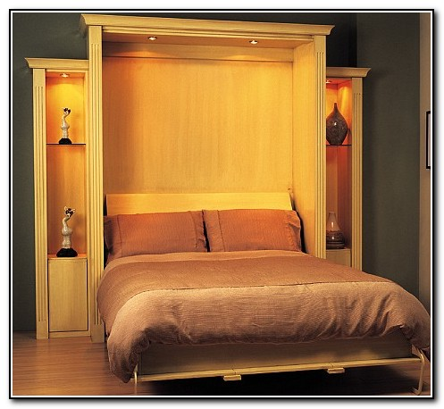 Fold Away Bed Into Wall