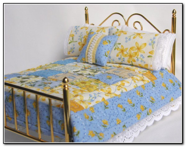 French Country Bedding Blue And Yellow