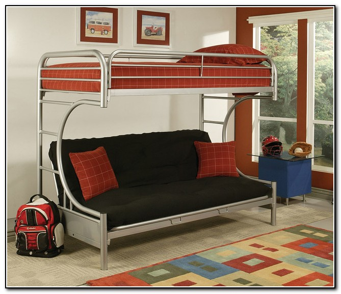 Full Over Futon Bunk Beds