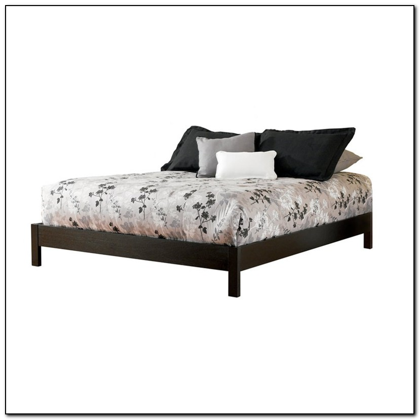 Full Platform Bed Frame