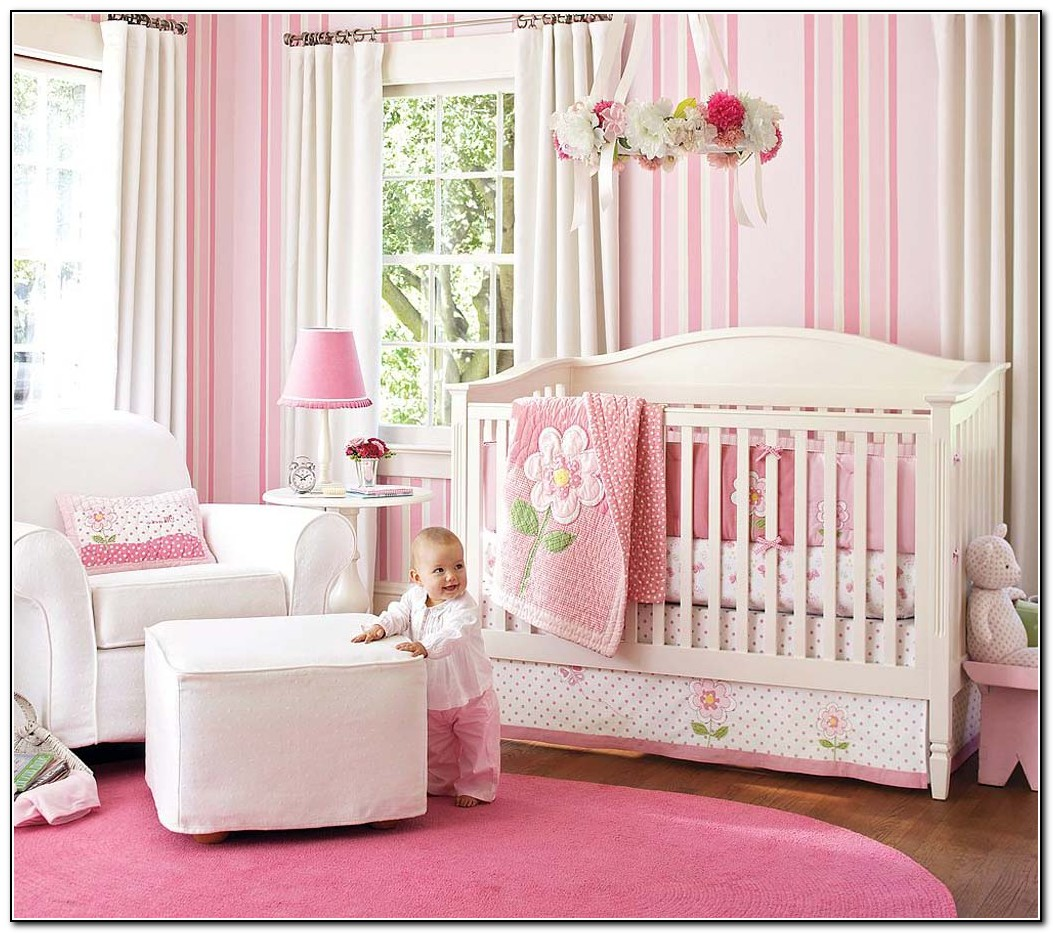 Girl Nursery Bedding Set