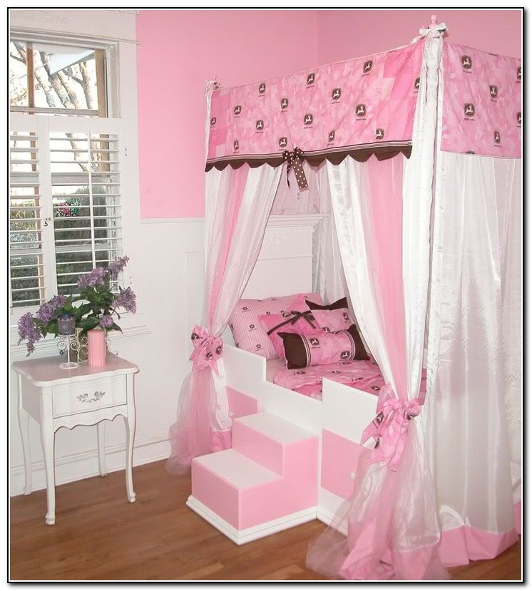 Girls Canopy Beds Cheap
