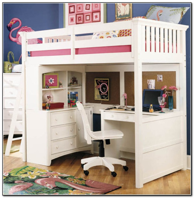 Girls Loft Bed Ideas