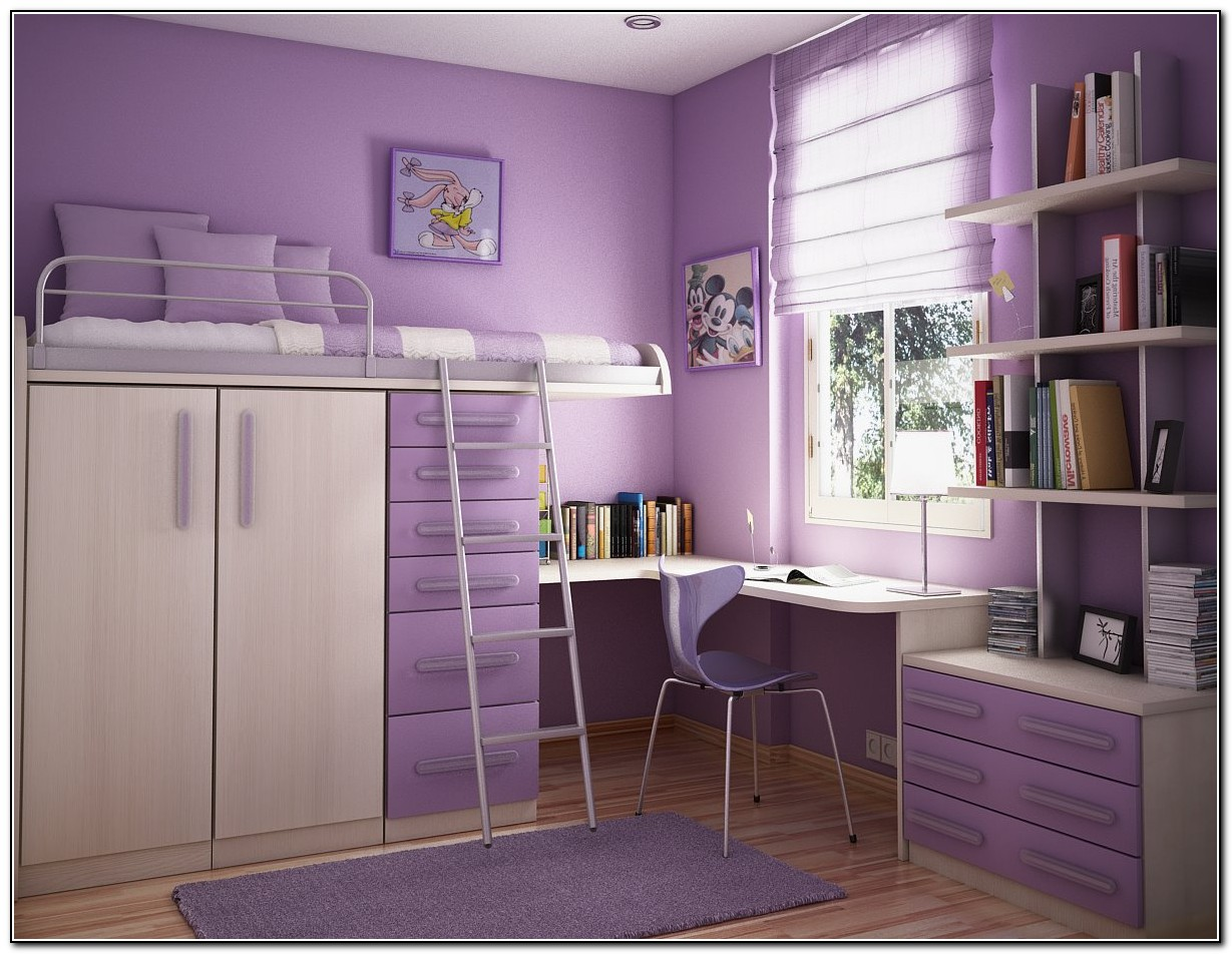 Girls Loft Bed With Storage