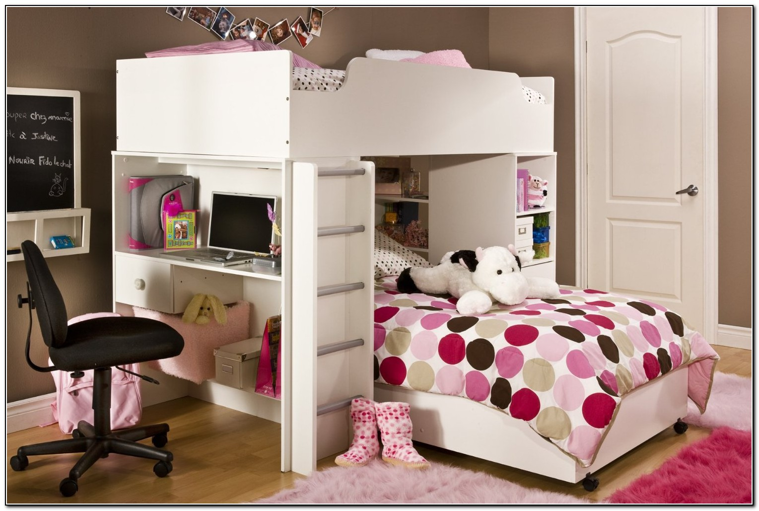 Girls Loft Bedrooms