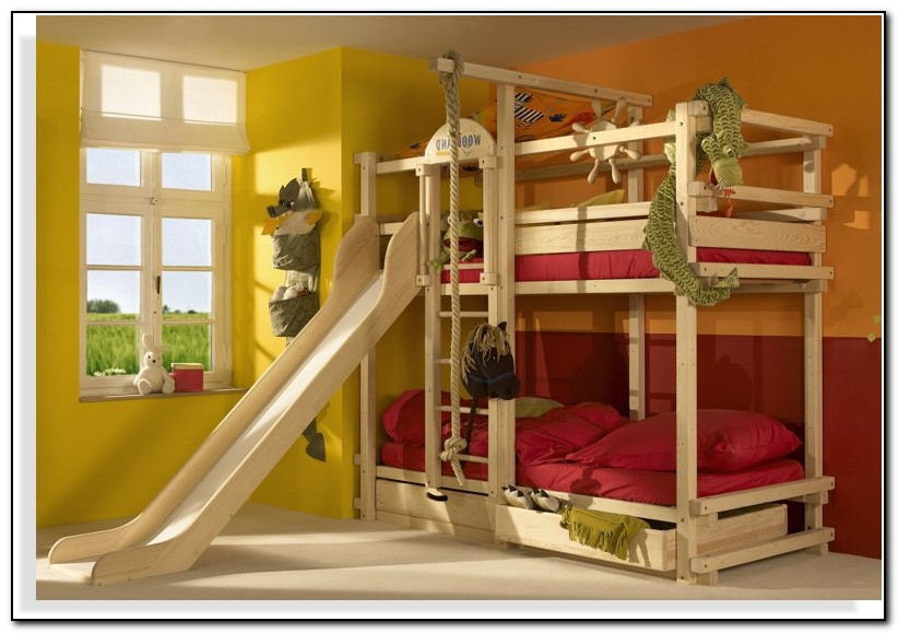 Ikea Bunk Bed Slide