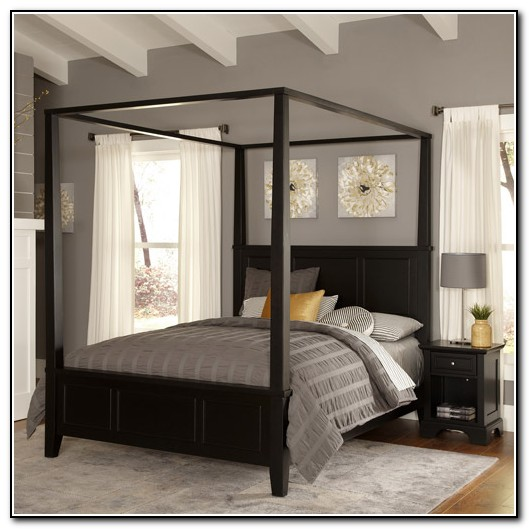 King Canopy Bed Canada