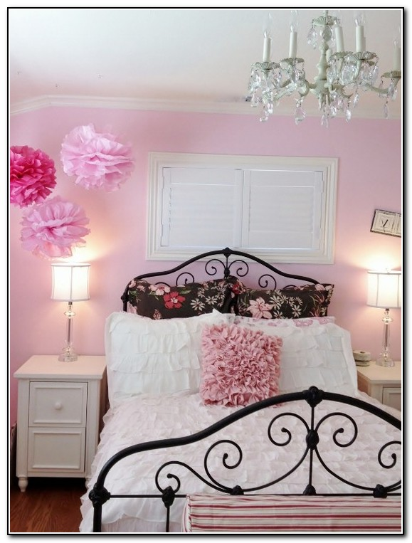 Little Girl Bedroom Ideas Pink And Brown