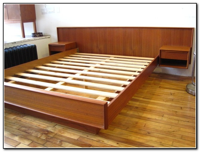 Mid Century Modern Murphy Bed
