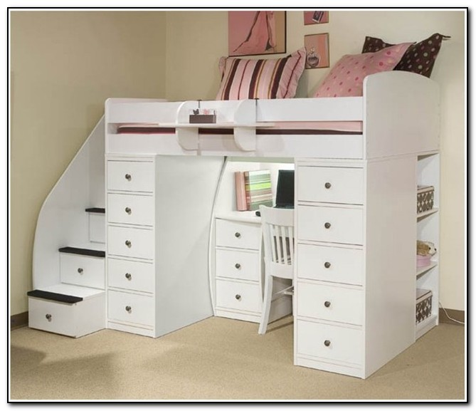 Modern Bunk Beds With Desk