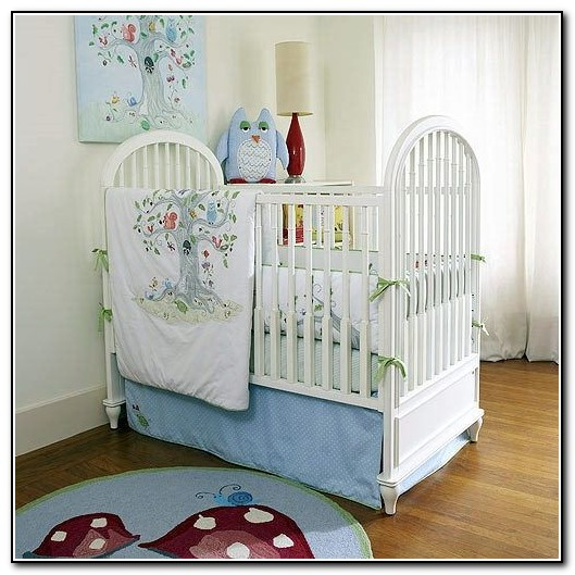 Owl Crib Bedding Boy