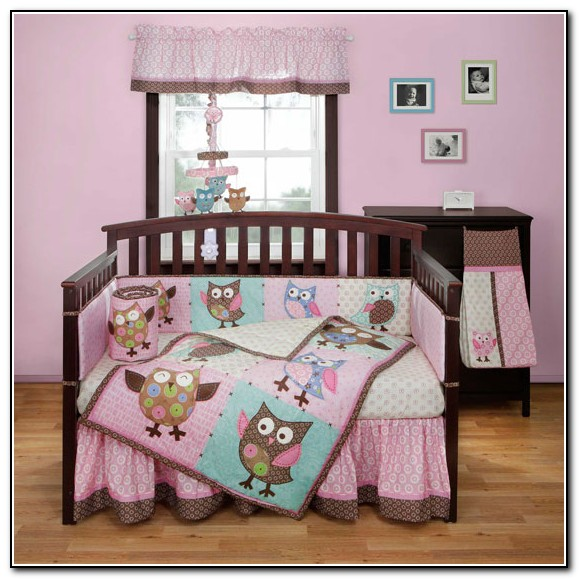 Owl Crib Bedding For Girl