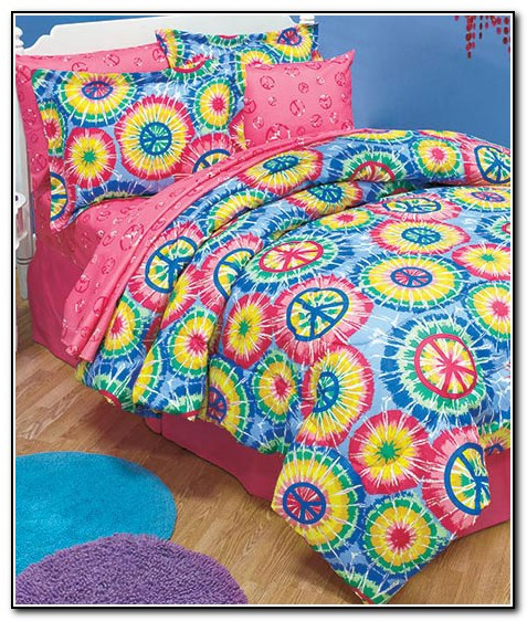 Peace Sign Bedding Full Size