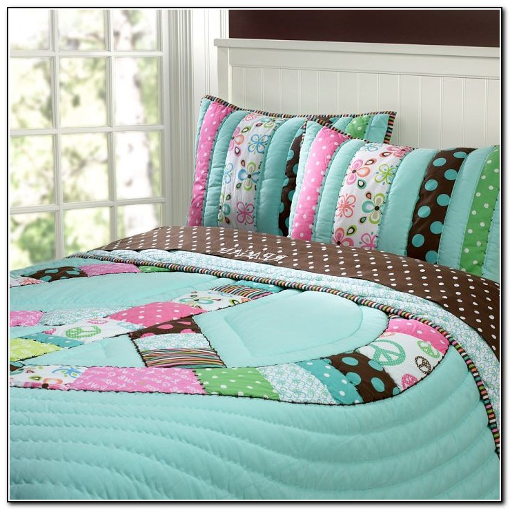 Peace Sign Bedding Pottery Barn