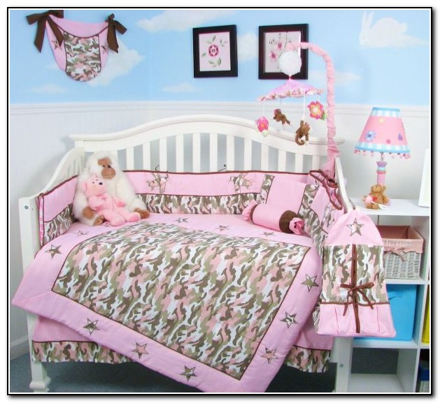 Pink Camo Bedding For Babies