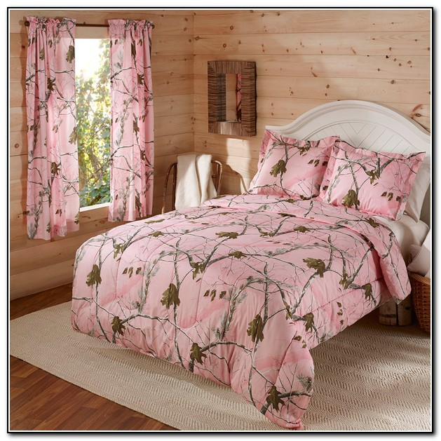 Pink Camo Bedding Sets Queen