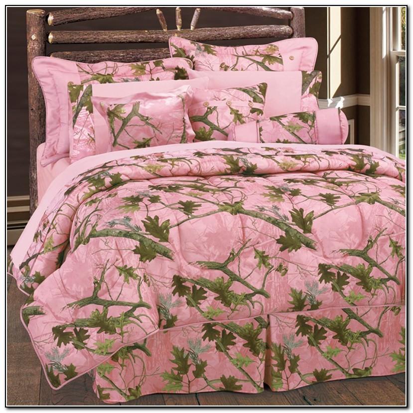 Pink Camo Bedding Sets