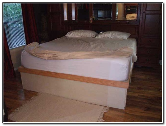 Platform Storage Bed Diy