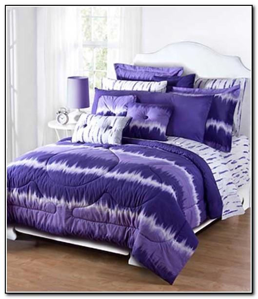 Purple Tie Dye Bedding