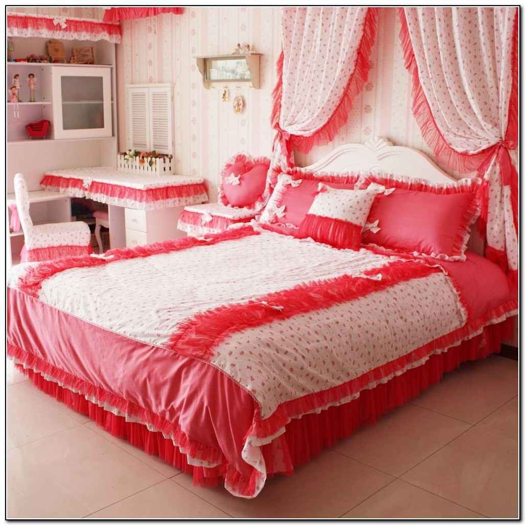 Queen Bed Sets With Curtains