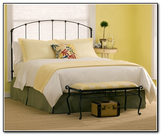 Queen Metal Bed Frame With Headboard