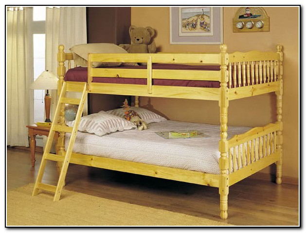 Queen Over Queen Bunk Bed Frame