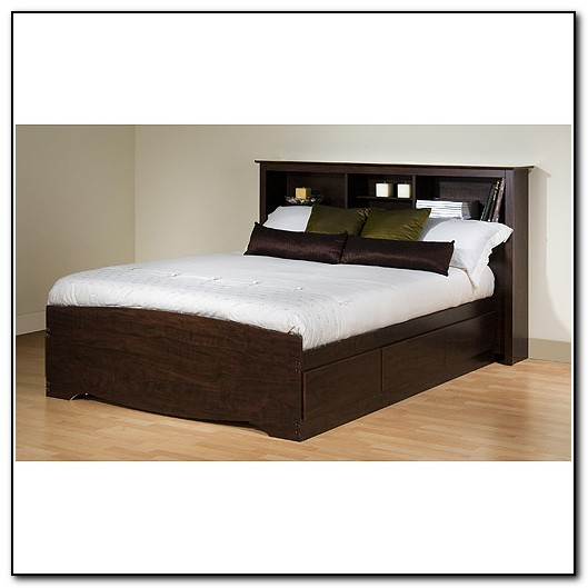 Queen Platform Beds With Storage
