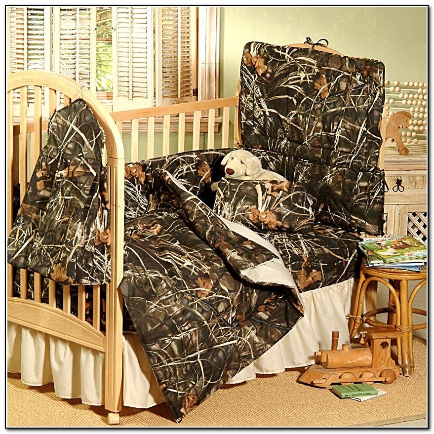 Realtree Camo Crib Bedding Set