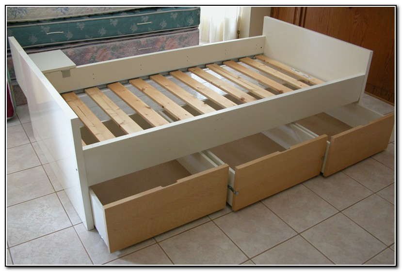 Twin Bed With Drawers Ikea