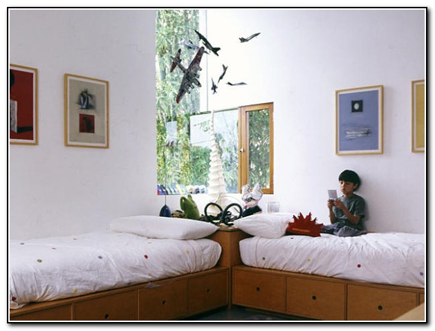 Twin Beds For Boys Room
