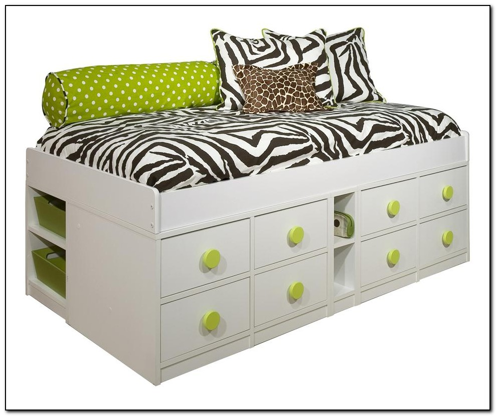 Twin Storage Bed Frame