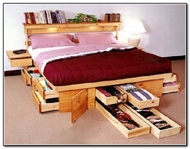 Under The Bed Storage Ideas