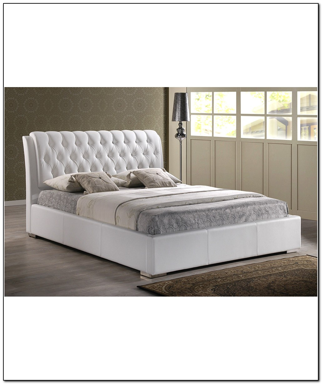 White Bed Frame Full