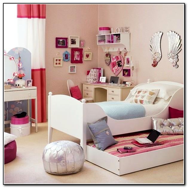 White Bed Frame Room Ideas