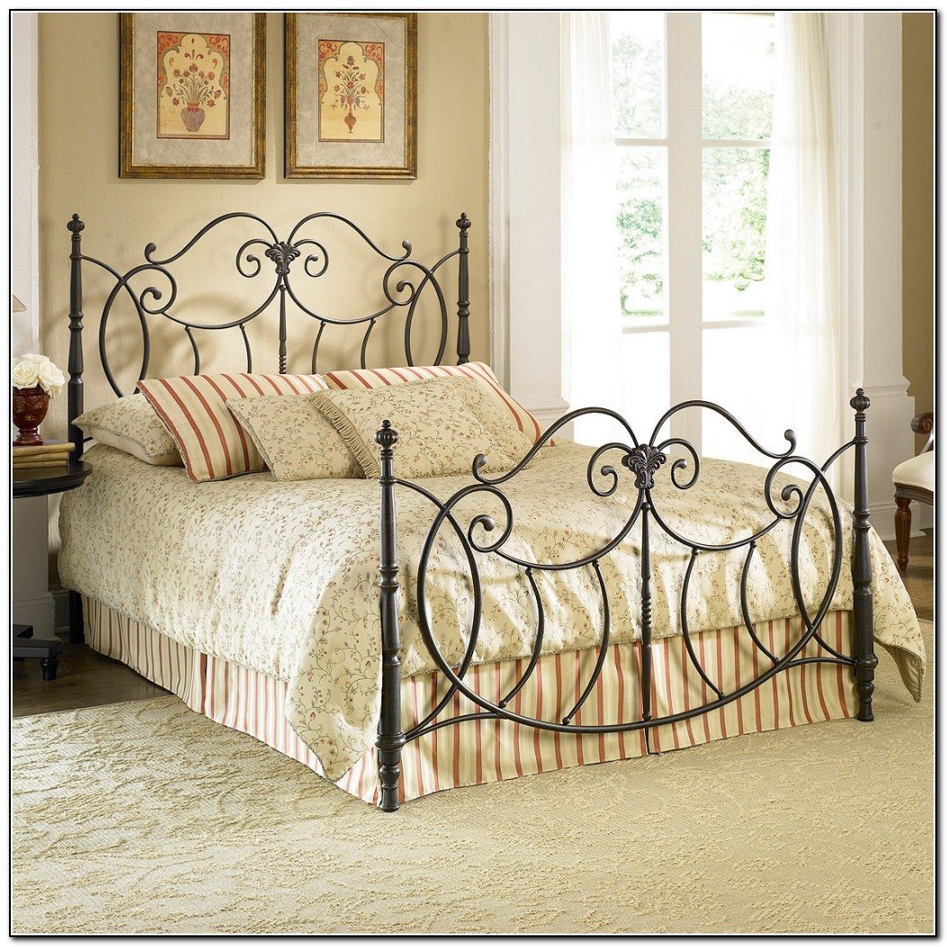 Wrought Iron Bed Designs