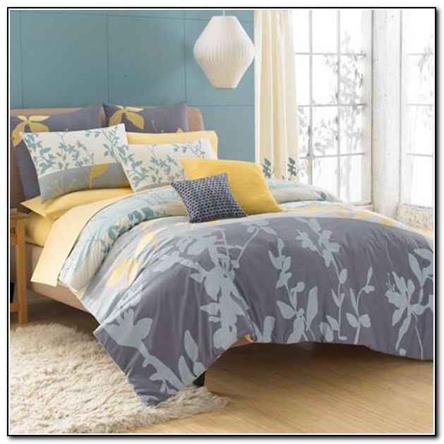 Yellow And Grey Bedding Bed Bath And Beyond