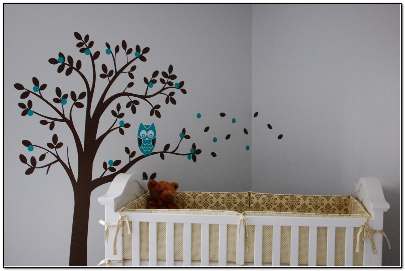 Baby Boy Owl Nursery Bedding