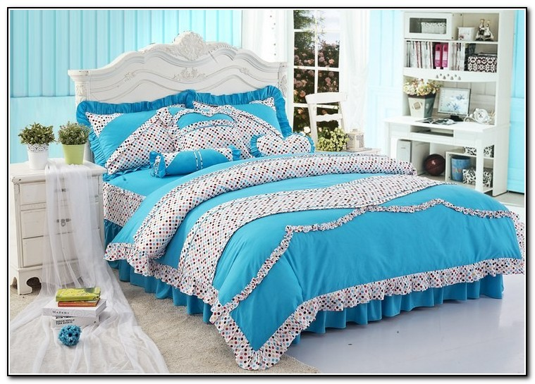 Bed Sets For Girls Blue