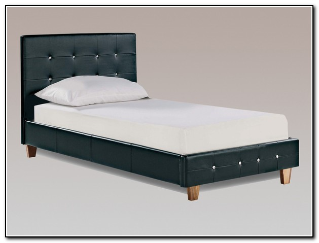Black Bed Frame With Diamonds