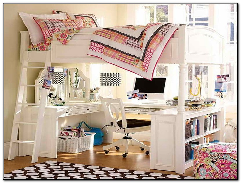Bunk Bed Desk Plans