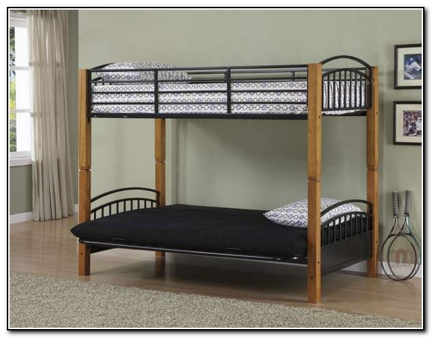 Bunk Bed With Futon Ikea