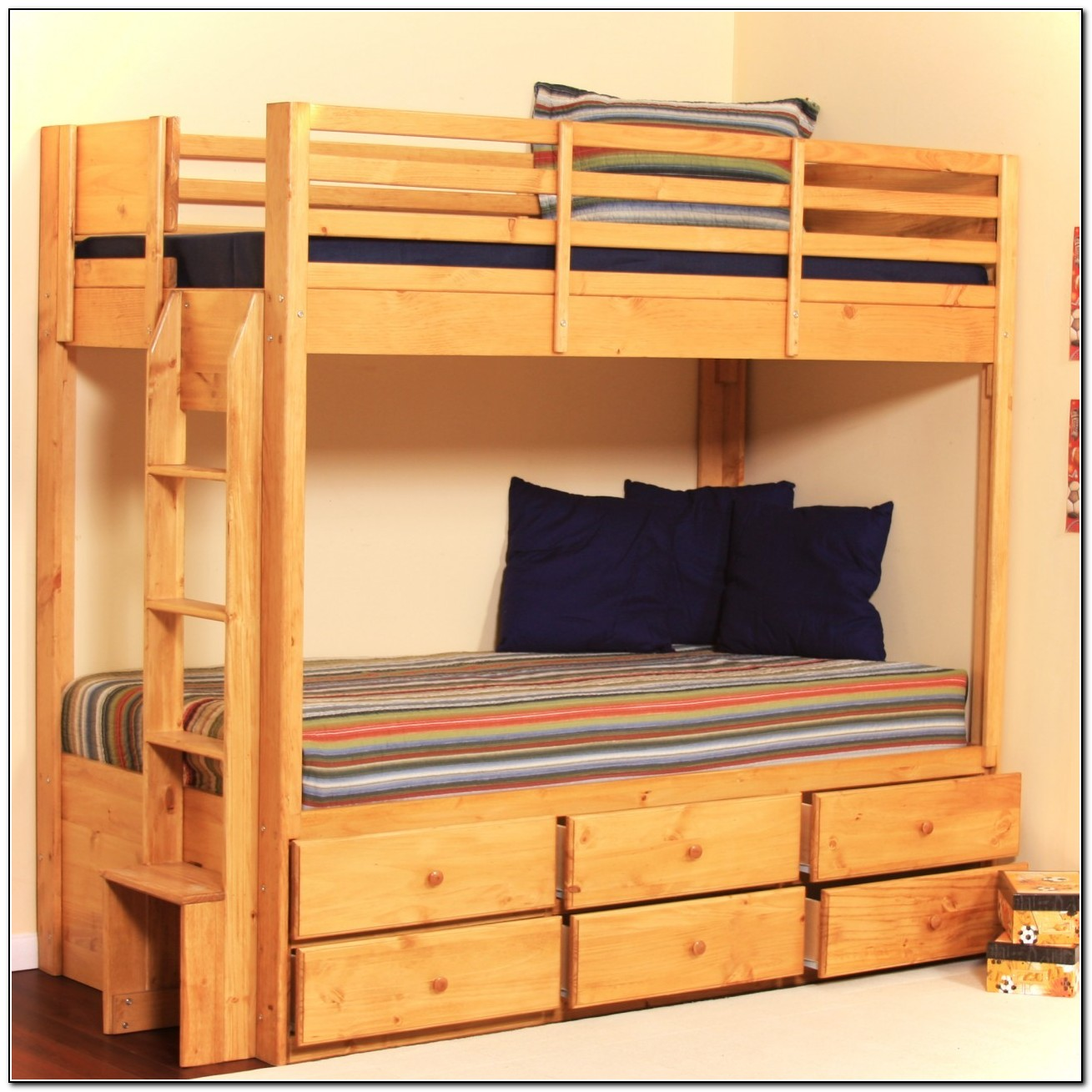 Bunk Beds With Storage Drawers