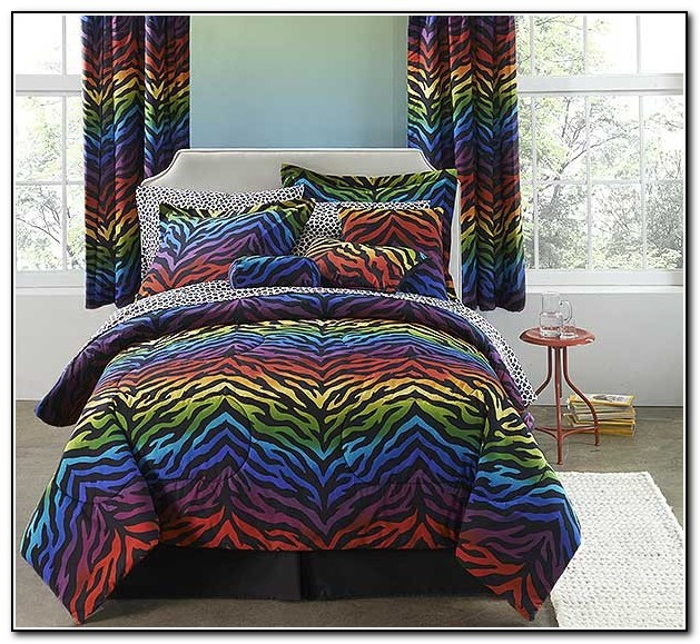 Colorful Bed In A Bag Sets