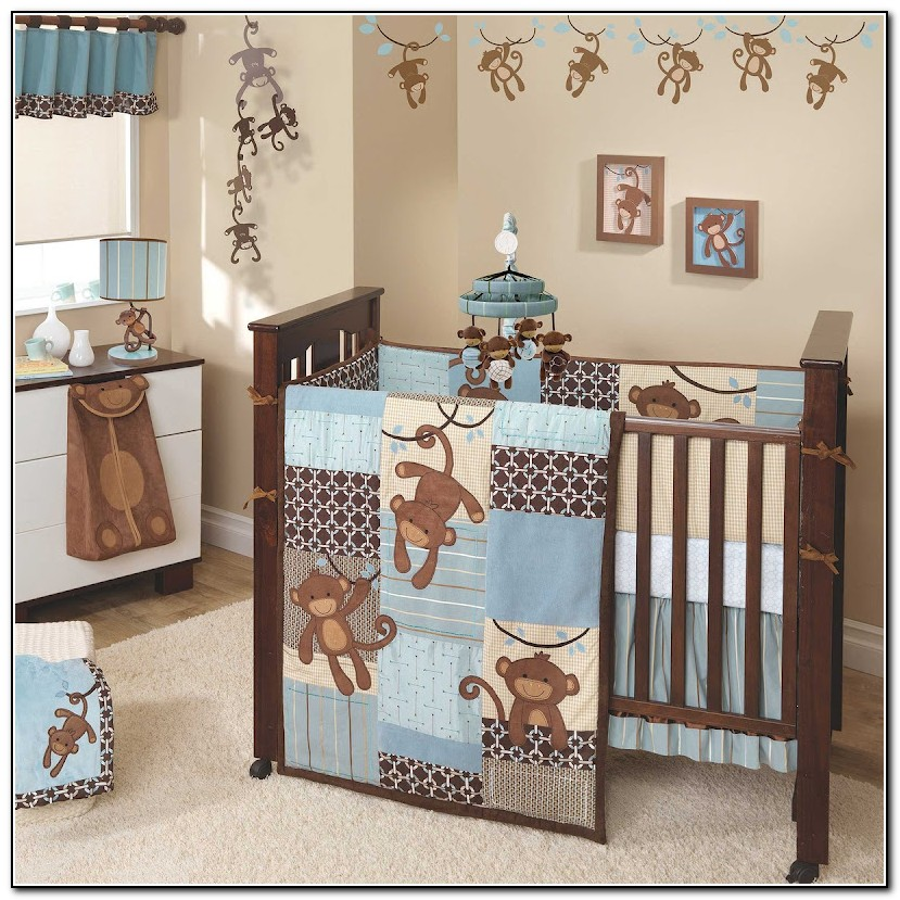 Cute Baby Boy Nursery Bedding