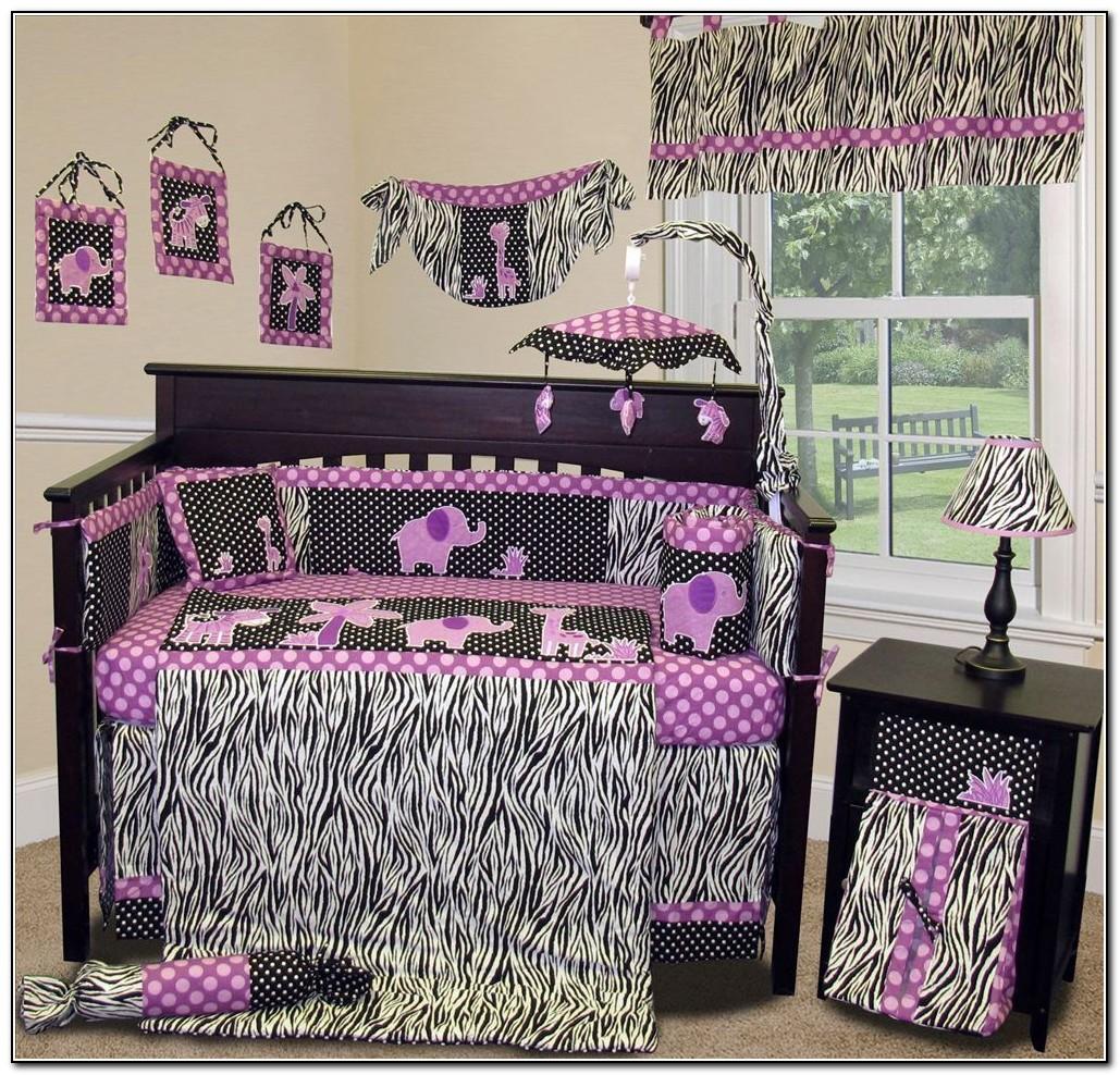 Dark Purple Baby Bedding