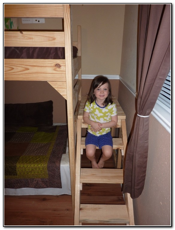 Diy Loft Bed With Stairs