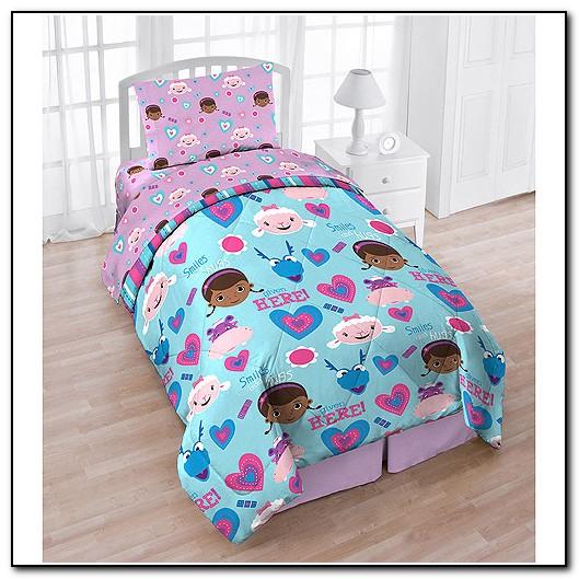 Doc Mcstuffins Queen Size Bedding