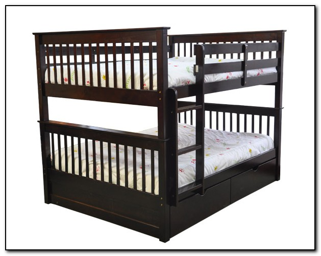 Double Bunk Beds Top And Bottom