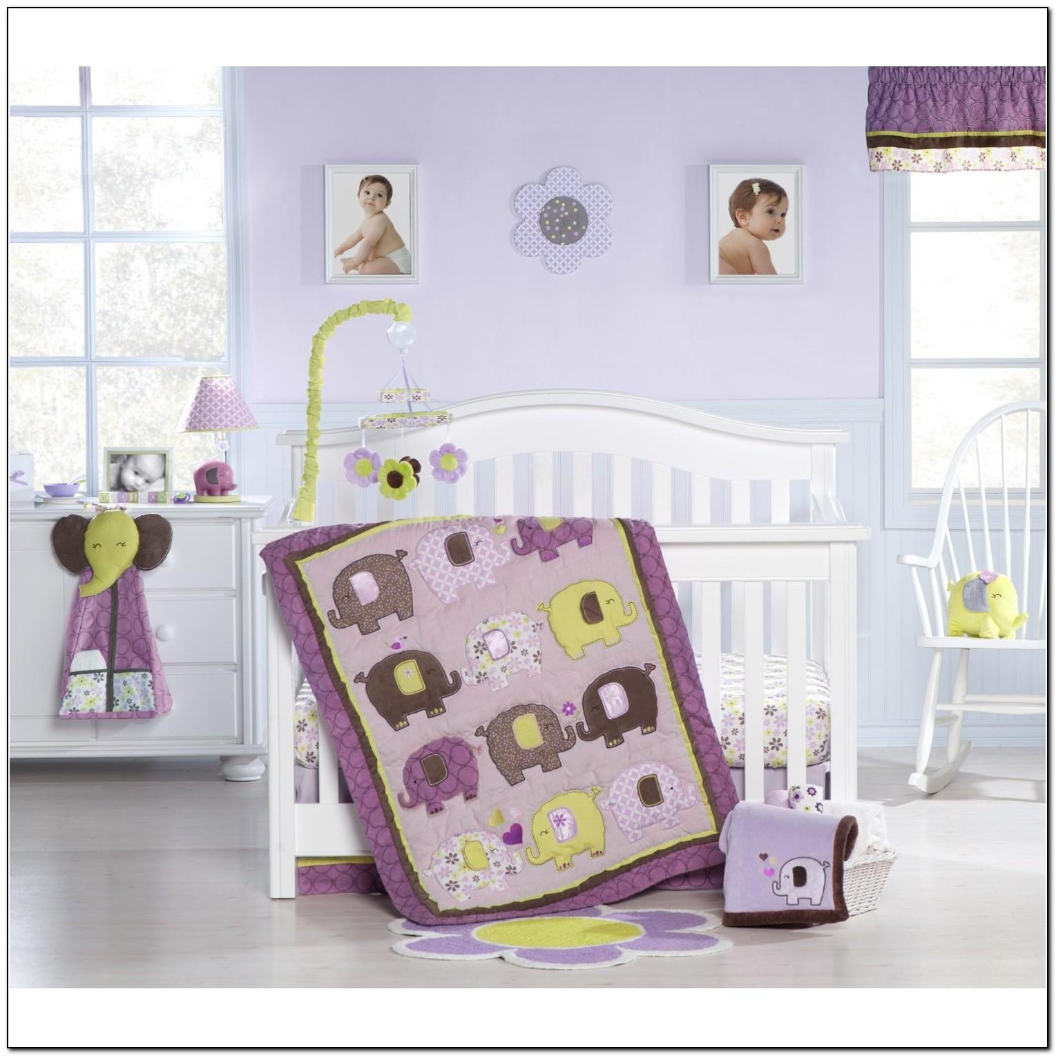 Elephant Baby Bedding For Girls