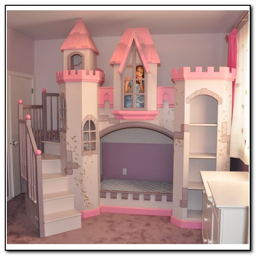 Girl Bunk Beds Castle